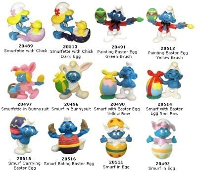 Interesting & Rare Smurf Figures: All about Rare Smurfs and