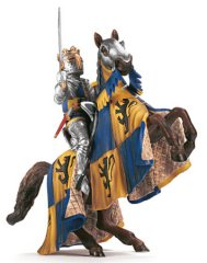 Schleich World of History Knights Griffin Dragon Knight with Axe 72037