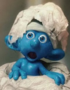 Smurf Movie Clumsy Smurf