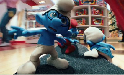 Smurf Movie Brainy Smurf