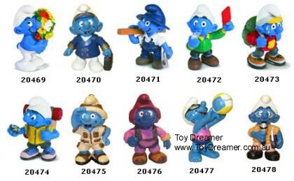2001 smurfs