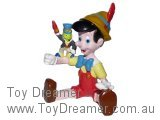Pinocchio - Sitting with Jiminy Cricket