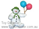 The Snowman: Snowman with Balloons