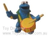 Sesame Street Bullyland: Cookie Monster with Drum