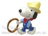 Western Snoopy with Rope
