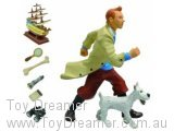 Tintin, Snowy and Items