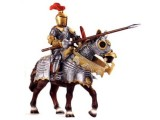 Knight with Lance on Horse (Red)