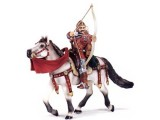 Archer on Horseback (Red)