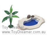 Schleich Set: Zoo Animal Pool & Banana Tree