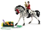 Playset: Showjumping Tournament with Knabstrupper Mare