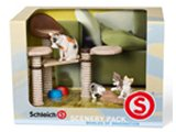 Schleich Scenery Pack: Cat Playset