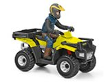 Schleich Vehicle: Quad Bike with Driver