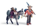 Gold Prospector with Donkey