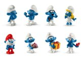 2019 Smurfs: Full Set of 8 Smurfs
