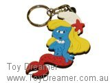Mermaid Smurfette Keyring