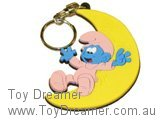 Baby and Moon Keyring