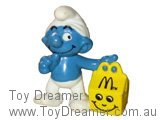 McDonalds 1 - Happy Meal Smurf