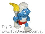 Olympic Torchbearer Smurf