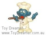 Chef Smurf - Red Sauce on Spoon