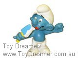 Ice Lolly Smurf - Blue/White Lolly
