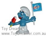 Ice Lolly Smurf - Scholler Flag