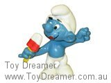 Ice Lolly Smurf - Red/White Lolly
