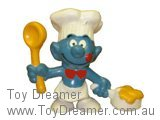 Cook Smurf - Red Bow Tie