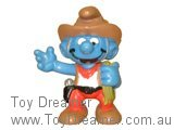 Cowboy Smurf - Light Brown Outfit
