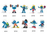 2012 Olympic Smurfs: Full Set of 10