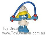 Skipping Rope Smurfette - Blue Rope