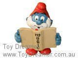 Papa Smurf with Magic Book - Magic on Spine