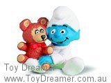 Baby Smurf with Teddy