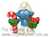 Christmas Smurf with Candy & Gift