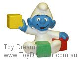 Baby Smurf with Blocks - Y/G/R