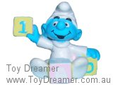 Baby Smurf with Painted Blocks - 1/A/O