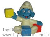 Baby Smurf with Blocks - Y/B/R - Yellow Hue