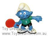 Table Tennis Smurf