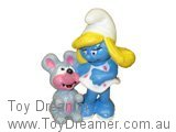 Smurfette with Mouse
