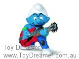 Lead Guitar Smurf - Red Guitar
