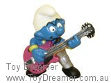 Lead Guitar Smurf - Silver Version
