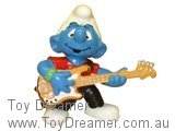Bass Guitar Smurf - Red Shirt