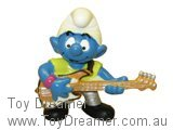 Bass Guitar Smurf - Silver Version