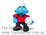 Football Smurf Player - Red Shirt