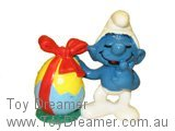 Smurf with Easter Egg (Red Bow)
