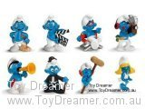 2009 Movie Smurfs: Full Set of 8