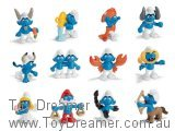 2010 Zodiac Smurfs: Full Set of 12