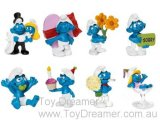 2013 Celebration Smurfs: Full Set of 8