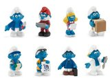 2015 Job Smurfs: Full Set of 8