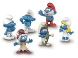 The Lost Village Smurfs x 6 (Box Set)