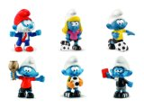 2018 Football Smurfs - Set of 6